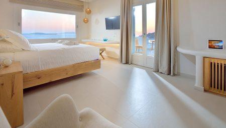 Anax Mykonos Resort Suite Bedroom