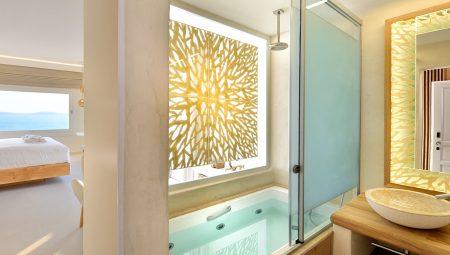 Anax Mykonos Resort Suite Bathroom 3
