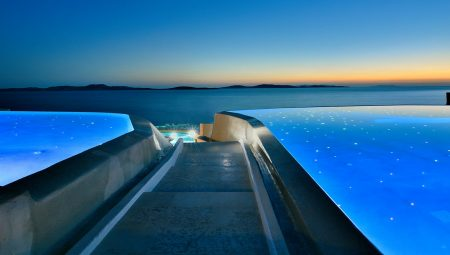 Anax Mykonos Resort Pool Night 2