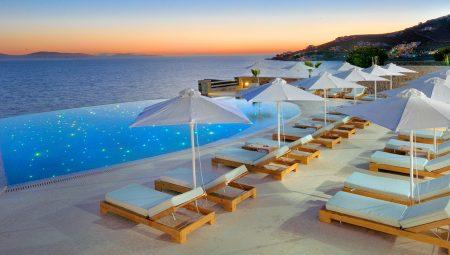 Anax Resort Pool Sunbeds